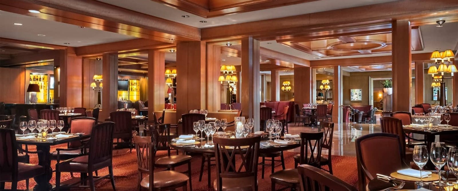 The Bristol Restaurant at Four Seasons Hotel Boston, New England