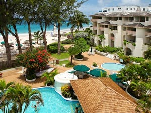 Exterior of Bougainvillea Beach Resort, Barbados, Caribbean
