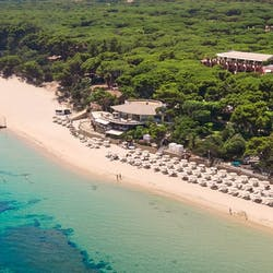 Aerial View of Forte Village Resort, South Sardinia