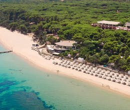 First child stays free at incredible family resort with Children's Wonderland and nine swimming pools<place>Forte Village Hotel Bouganville</place><fomo>7</fomo>