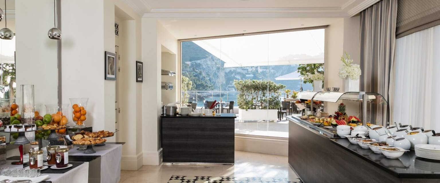Breakfast buffet at Cap Estel, French Riviera