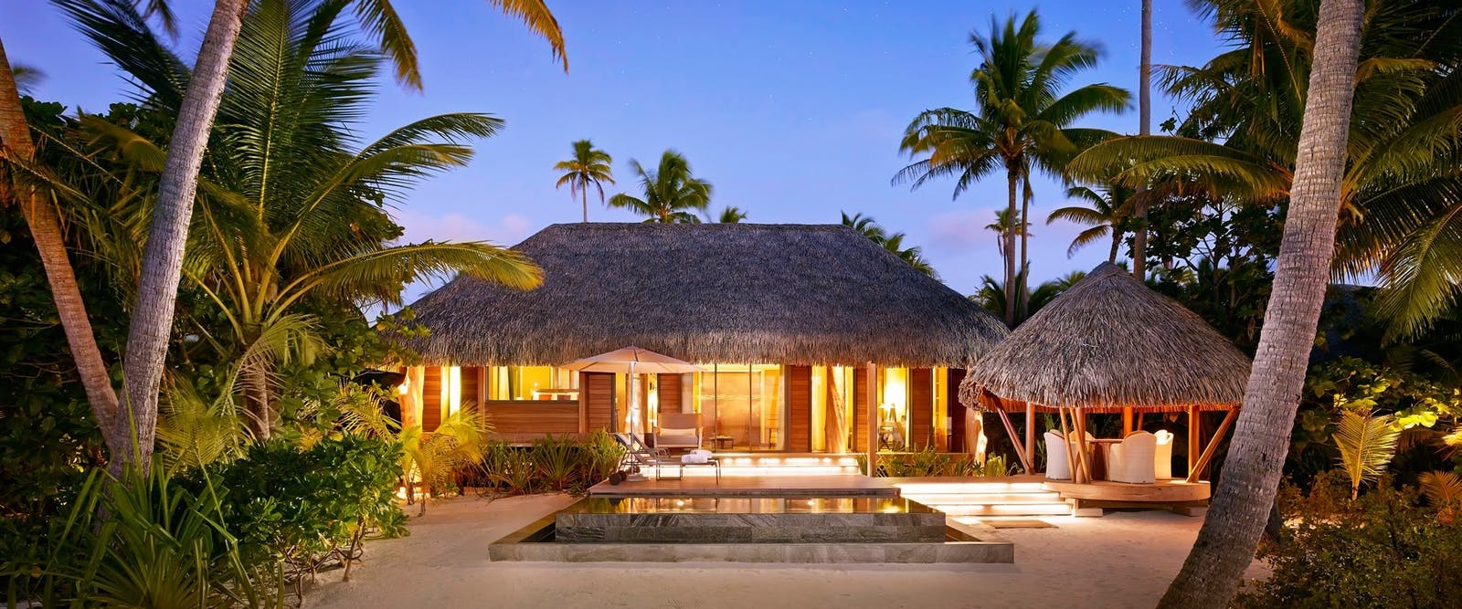 Villa at The Brando, Tahiti, French Polynesia