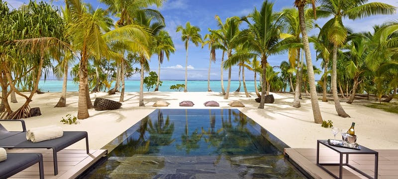 3 bedroom villa with pool at The Brando, Tahiti