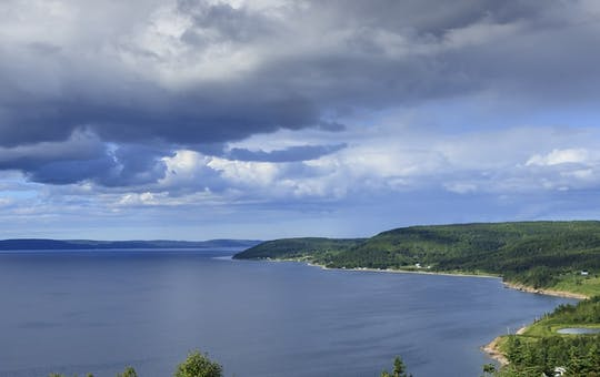 Bras d'Or Lake, Canada