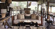 Interior of Belmond Savute Elephant Lodge, Chobe National Park