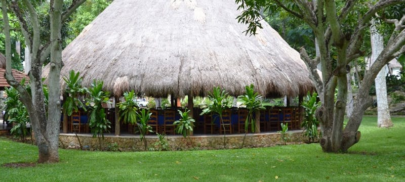 Buffet restaurant at The Lodge at Chichen Itza