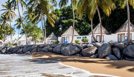 Beach Front Bungalow at Langley Resort Fort Royal, Guadeloupe