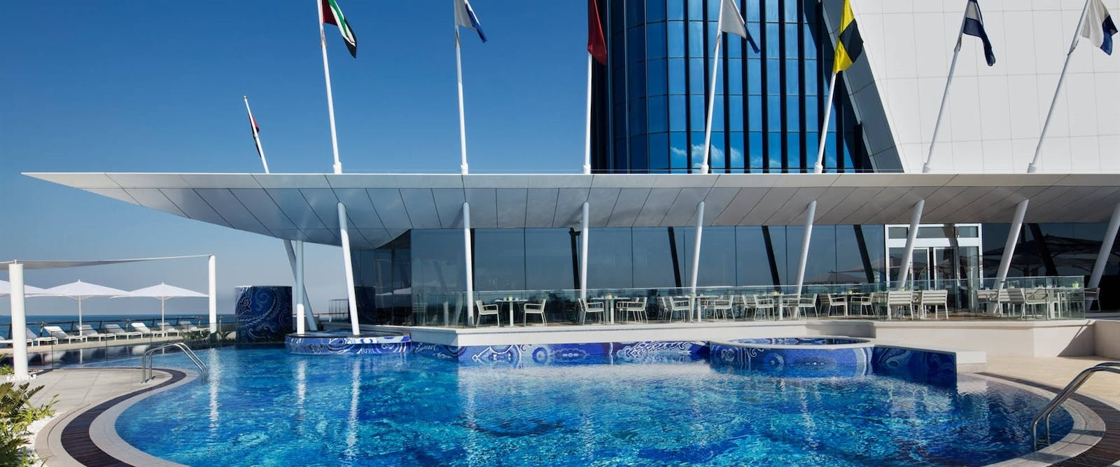 The pool at Burj Al Arab, Dubai