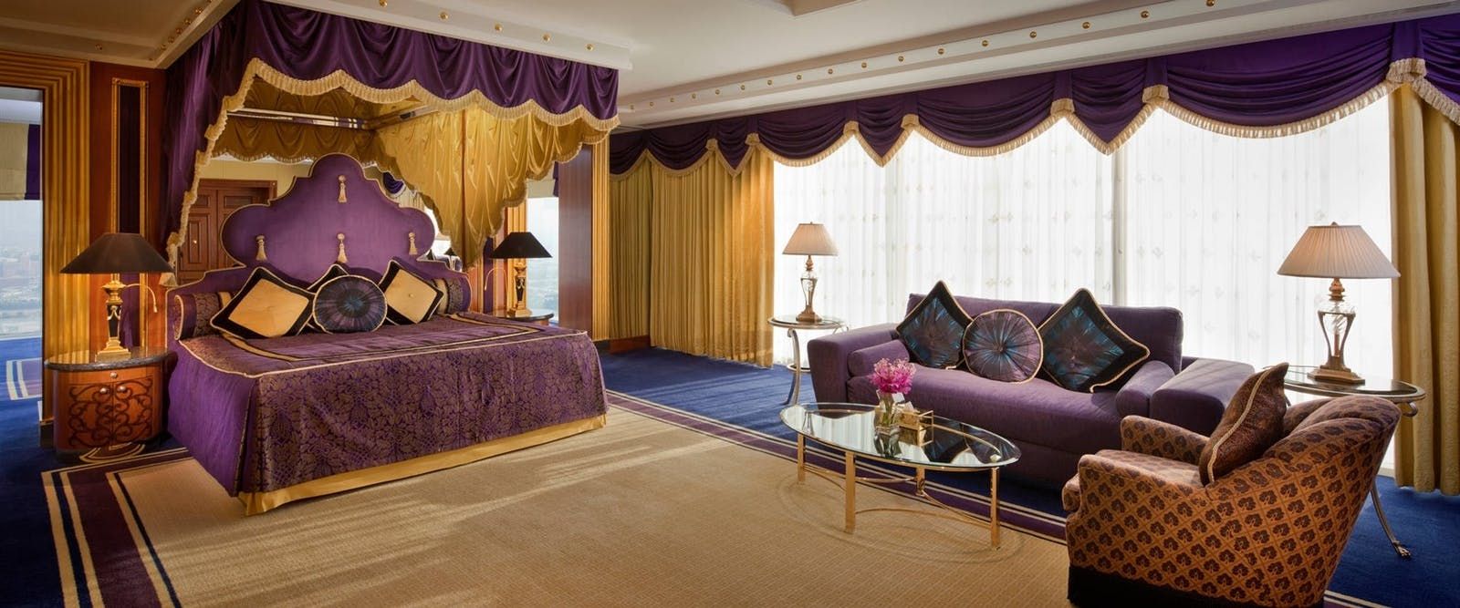 Diplomatic suite at Burj Al Arab, Dubai
