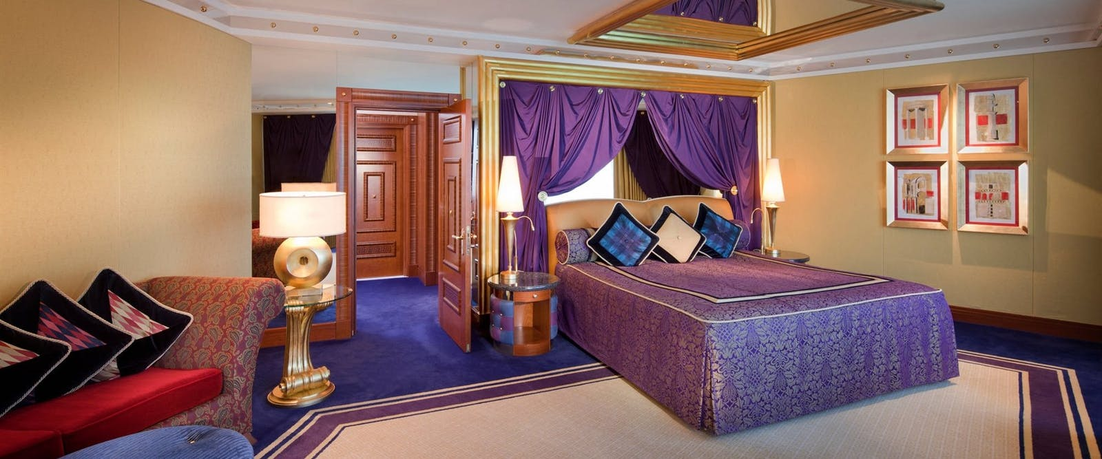 One bedroom deluxe suite at Burj Al Arab, Dubai