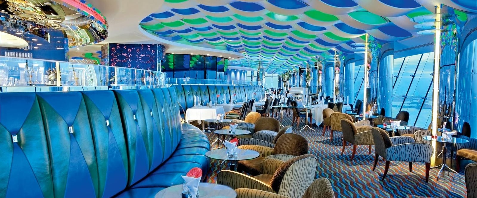 Skyview bar at Burj Al Arab, Dubai