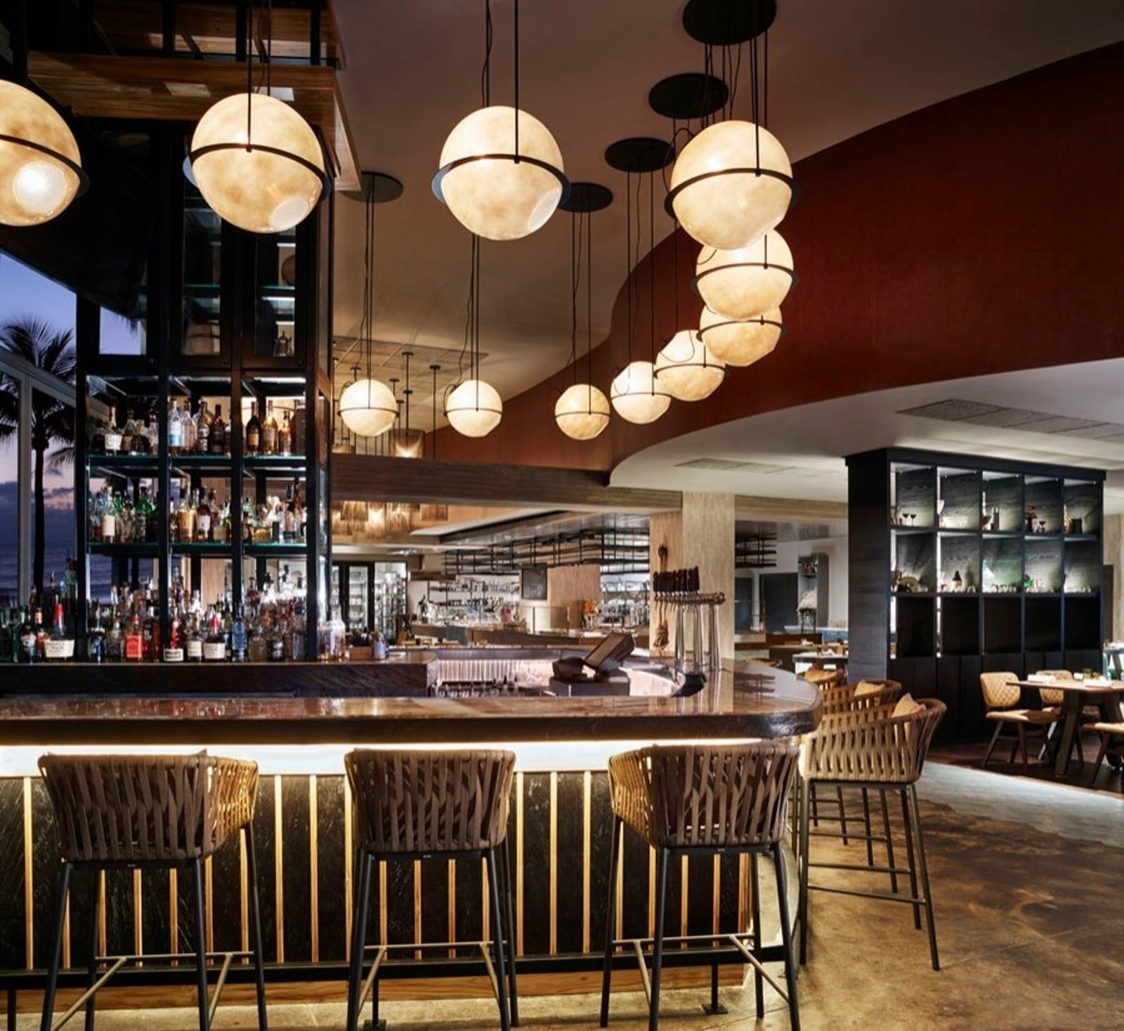 burlock coast bar at the ritz-carlton fort lauderdale