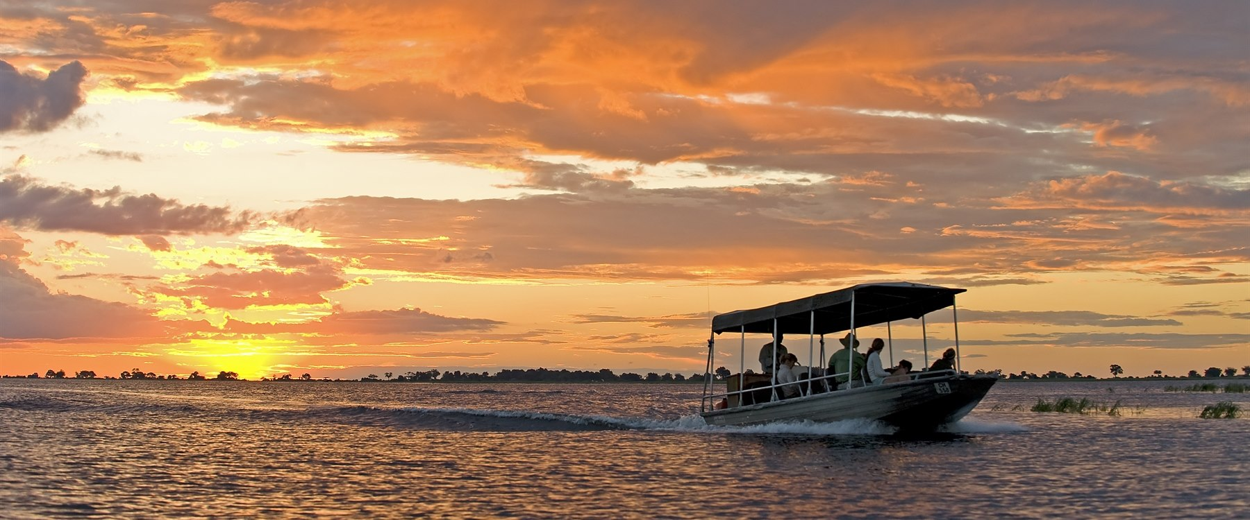Boat ride at Sanctuary Chobe Chilwero