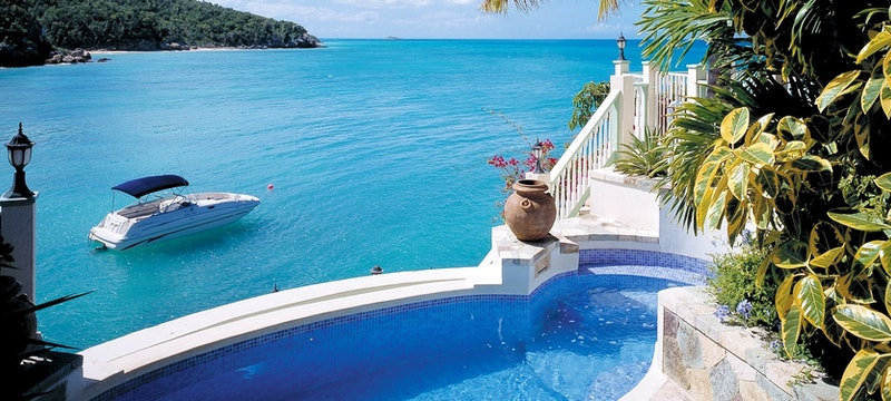 intimate restaurant at blue waters antigua