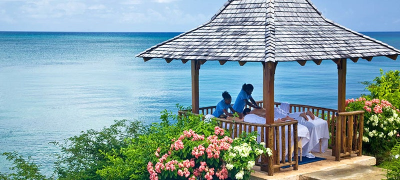 Pamper yourself at the Ti Spa at Calabash Cove, St Lucia