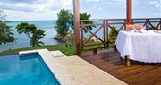 Private pool at Calabash Cove, St Lucia