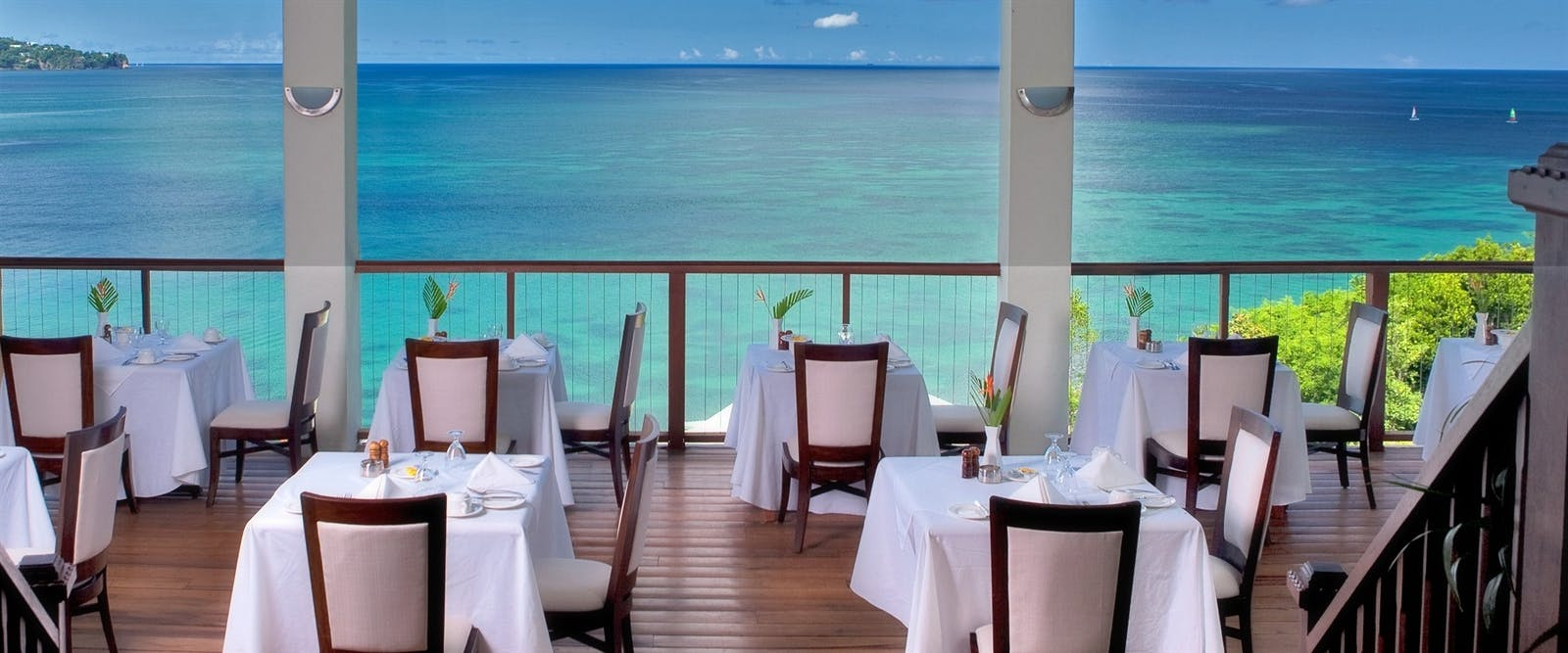 Windsong Restaurant at Calabash Cove, St Lucia