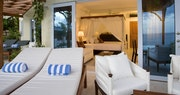 Swim up Junior Suite with patio at Calabash Cove, St Lucia
