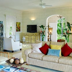 Living Room at Calliaqua, Barbados