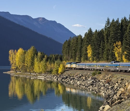 The Canadian Rail Journey, VIA train