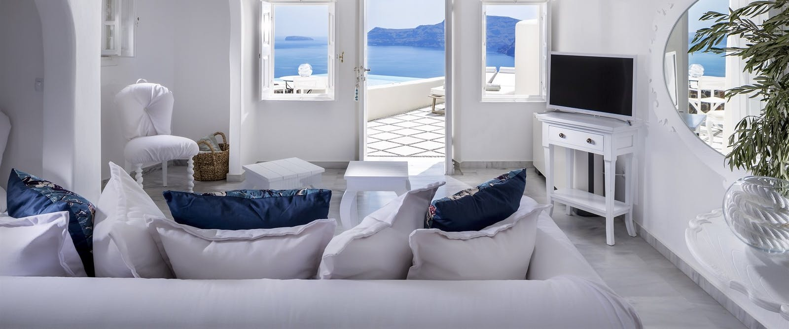 Guest Suite at Canaves Oia Hotel, Santorini, Greece