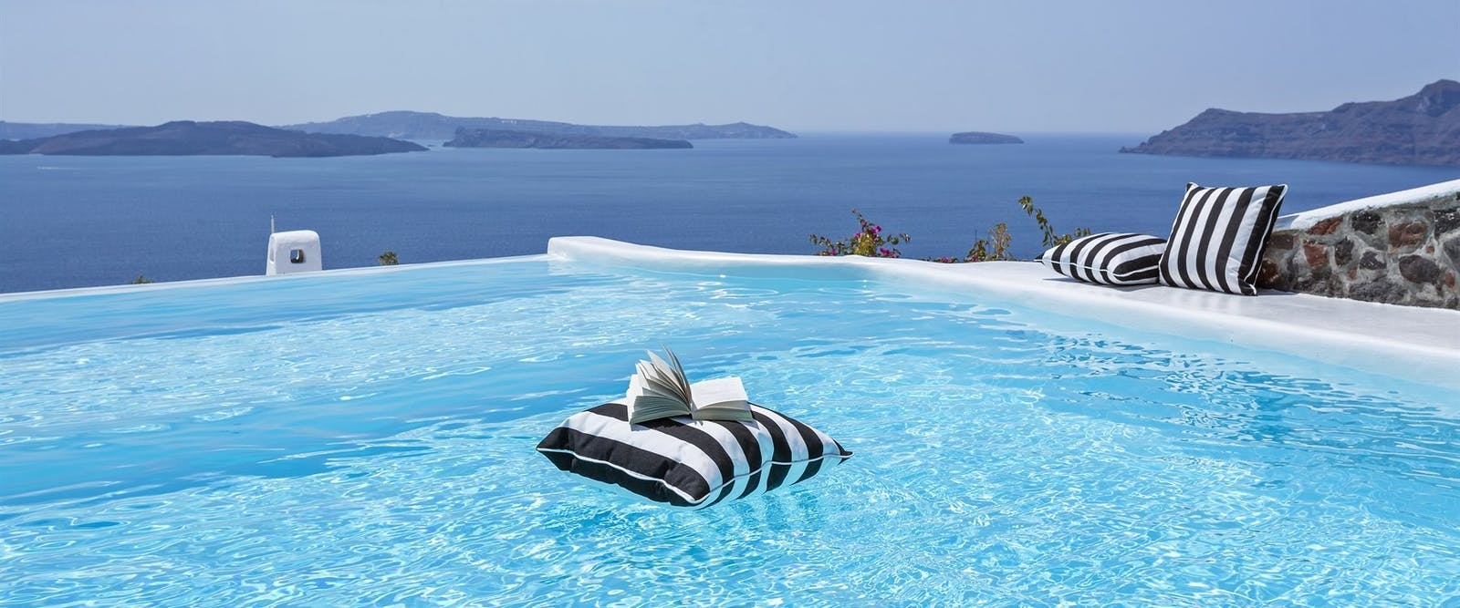 Infinity Pool at Canaves Oia Hotel, Santorini, Greece
