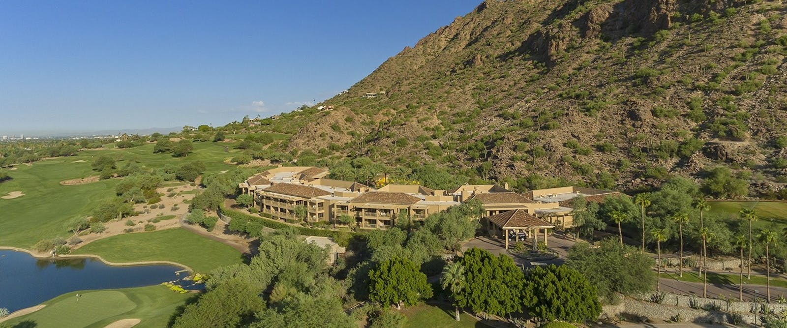 canyon suites aerial