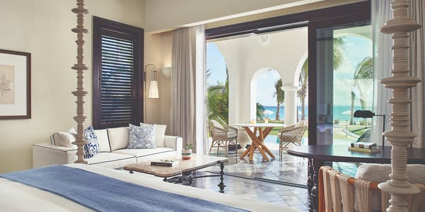 Beachfront One Bedroom Pool Suite