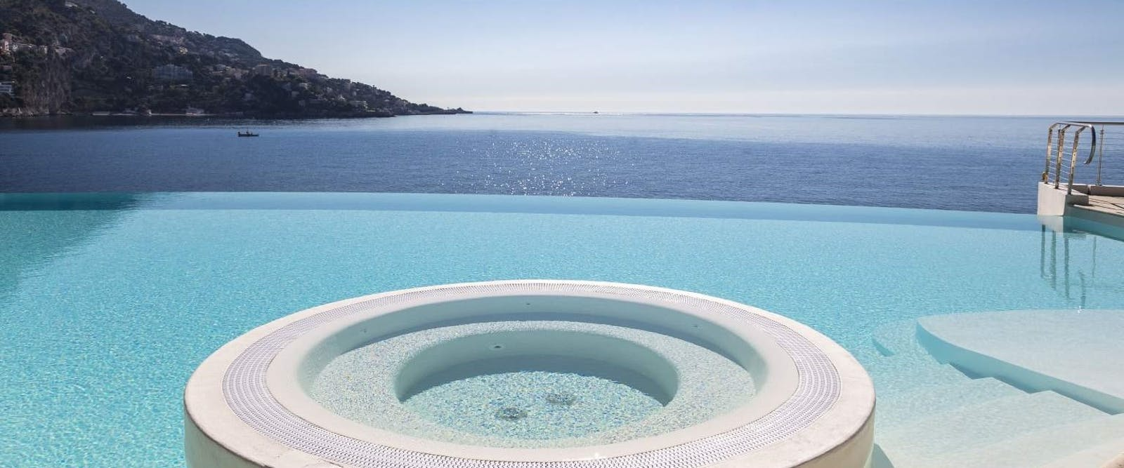 Infinity Pool at Cap Estel, French Riviera