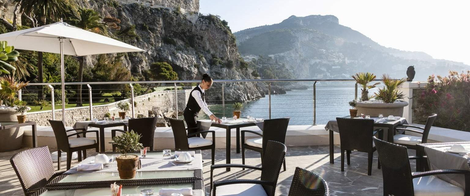 Restaurant at Cap Estel, French Riviera