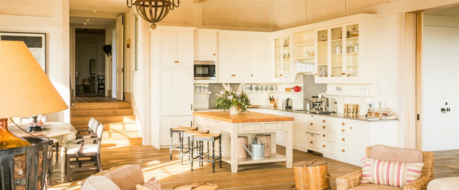 Owner's Cottage Kitchen at The Farm at Cape Kidnappers, Hawke's Bay