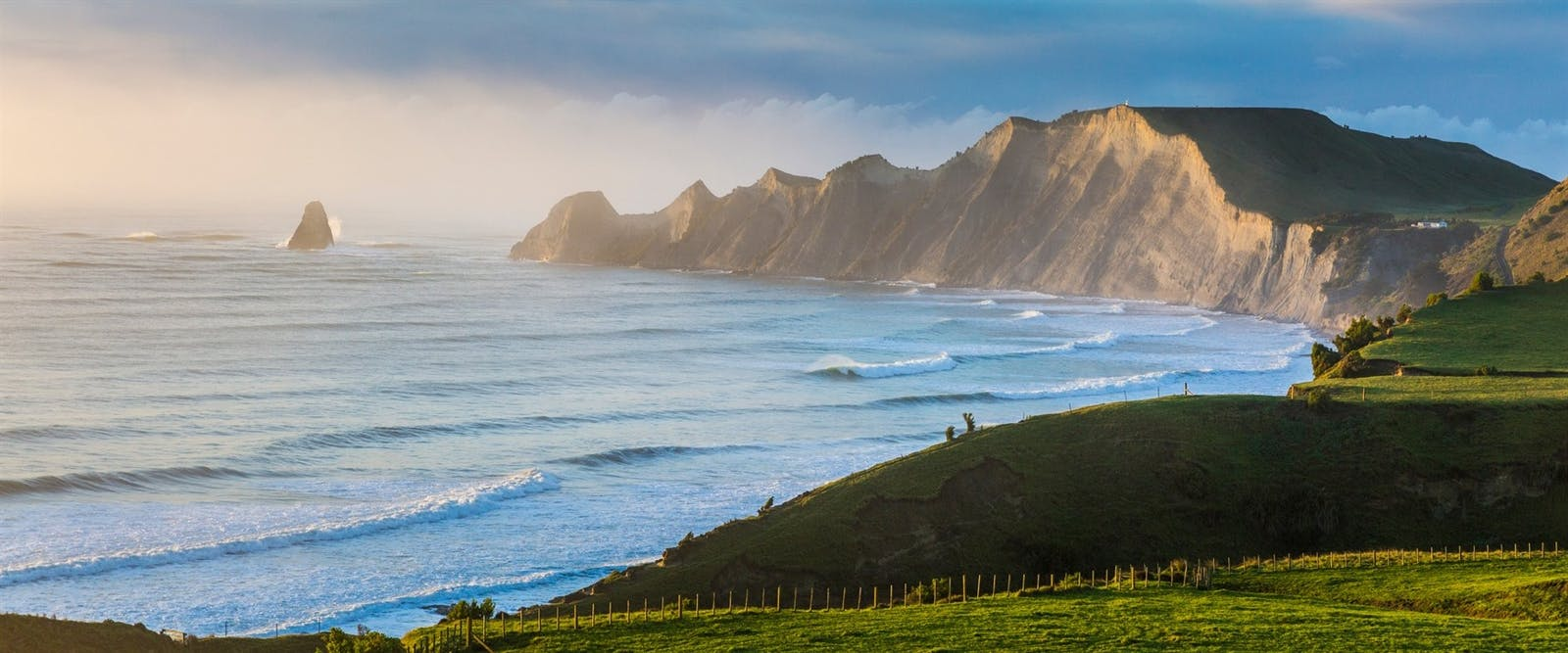 views from the farm at cape kidnappers hawkes bay