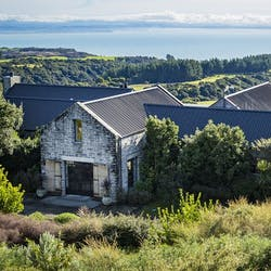 Exterior of The Farm at Cape Kidnappers, Hawke's Bay