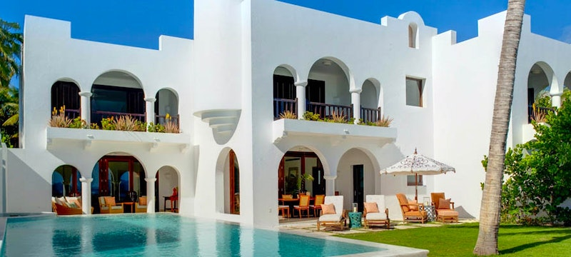 Private pool at the Jonquil Suite at Cap Juluca, Anguilla
