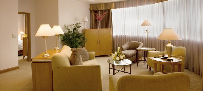 Two bedroom suite at Caravelle Saigon