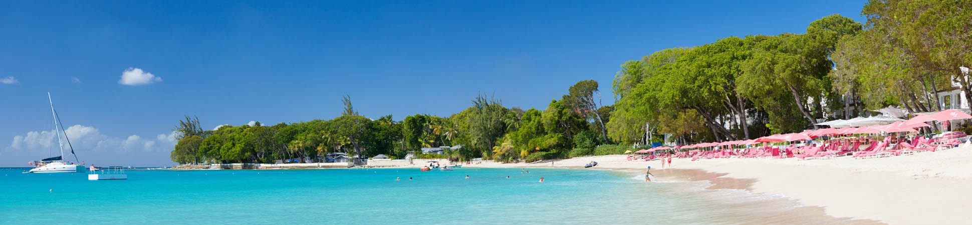 The beach at Sandy Lane, Barbados