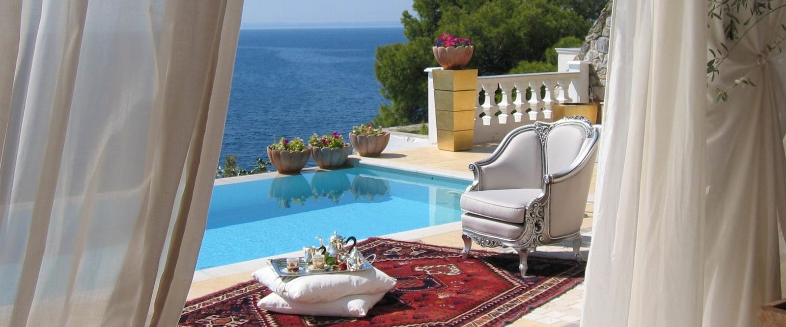 Private Pool at Danai Beach Resort & Villas, Halkidiki, Greece