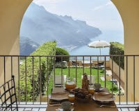 Private Terrace at Belmond Hotel Caruso, Amalfi Coast, Italy
