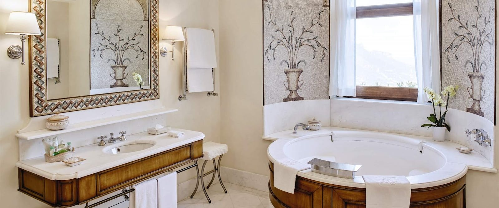 Executive Suite Bathroom at Belmond Hotel Caruso, Amalfi Coast, Italy
