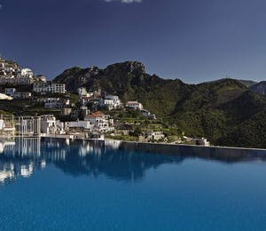 pool at Belmond Hotel Caruso, Amalfi Coast