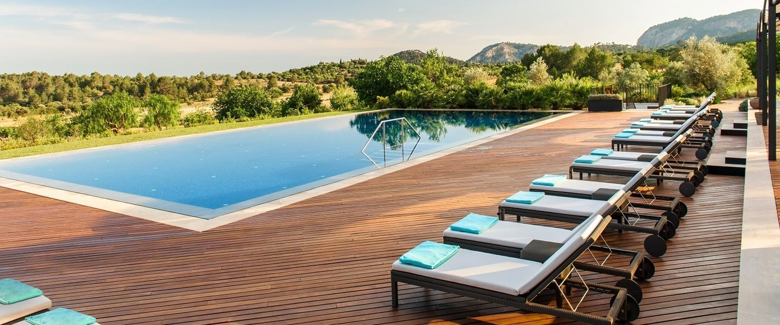 Pool Suite at Castell Son Claret, Mallorca, Spain