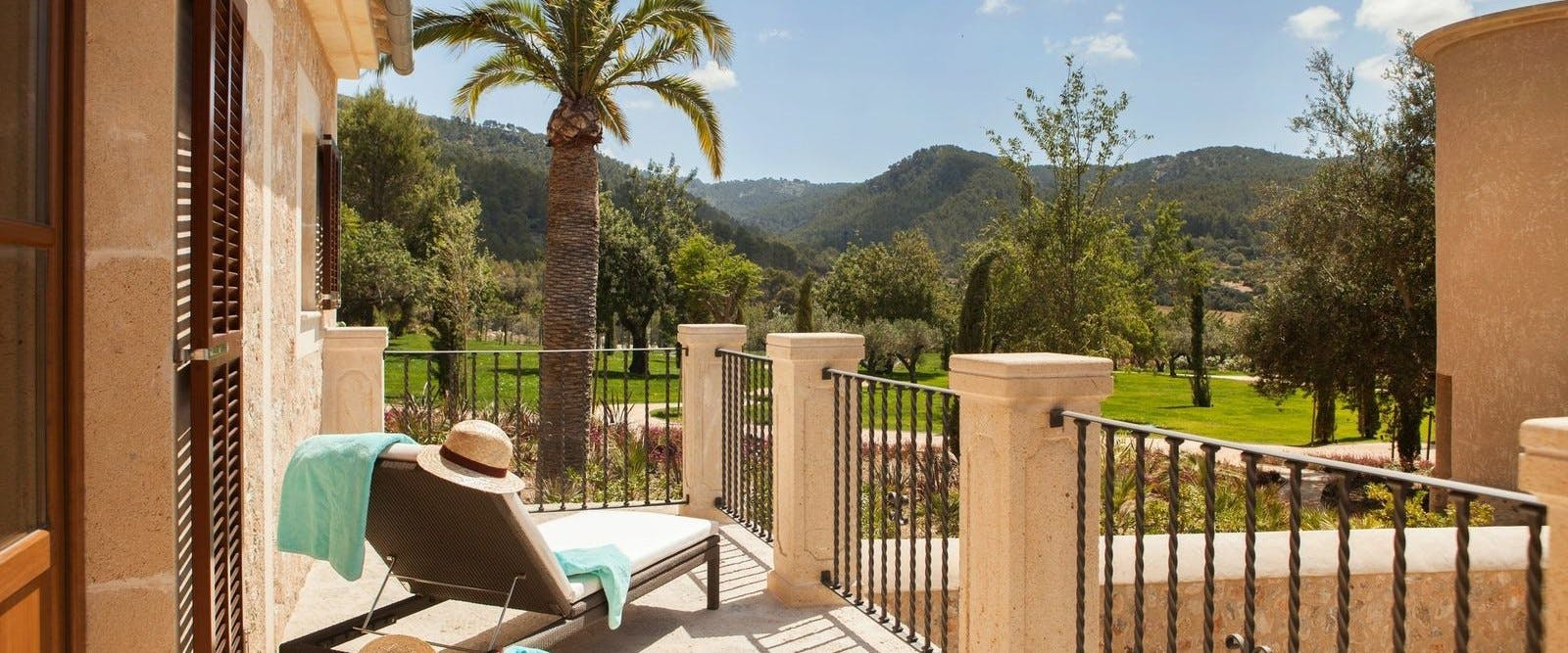 Accommodation at Castell Son Claret, Mallorca, Spain
