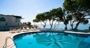 Pool area at Forte Village Hotel Castello