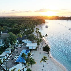 Aerial View of Casa De Campo Resort & Villas, Dominican Republic, Caribbean