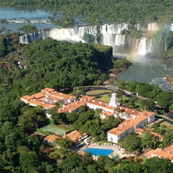 Beautiful exterior of Belmond Das Cataratas, Brazil