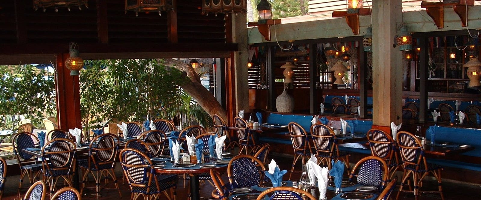 Restaurant at Bitter End Yacht Club, British Virgin Islands