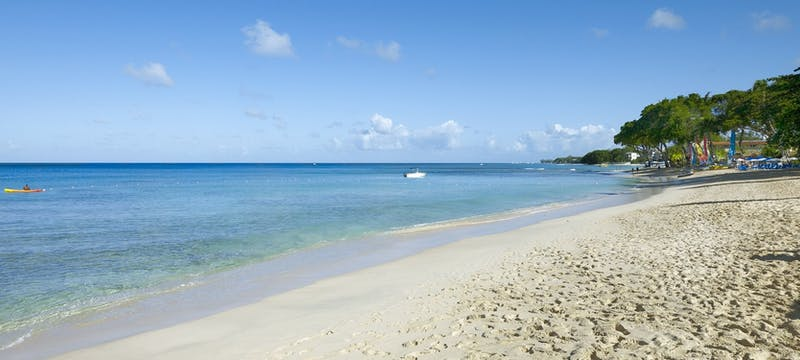 Serene beach view at The House by Elegant Hotels, Barbados