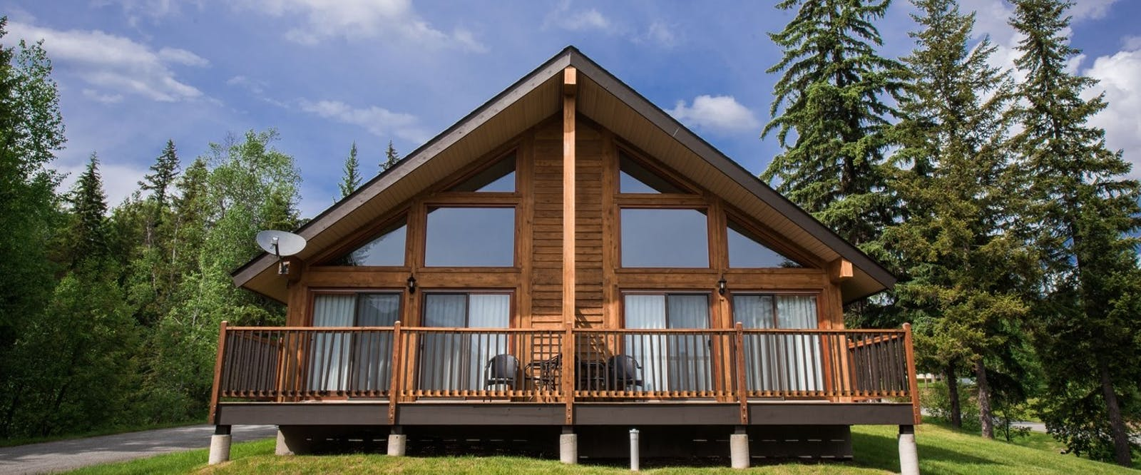 Chalet Exterior at Alpine Meadows Resort