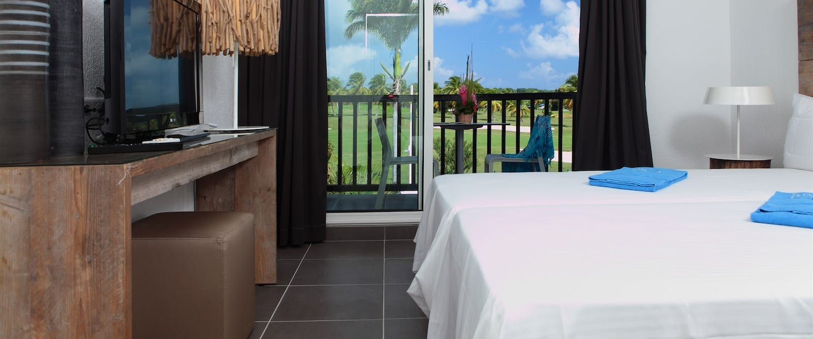Classic Bedroom Golf View at Bwa Chik Hotel & Golf, Guadeloupe