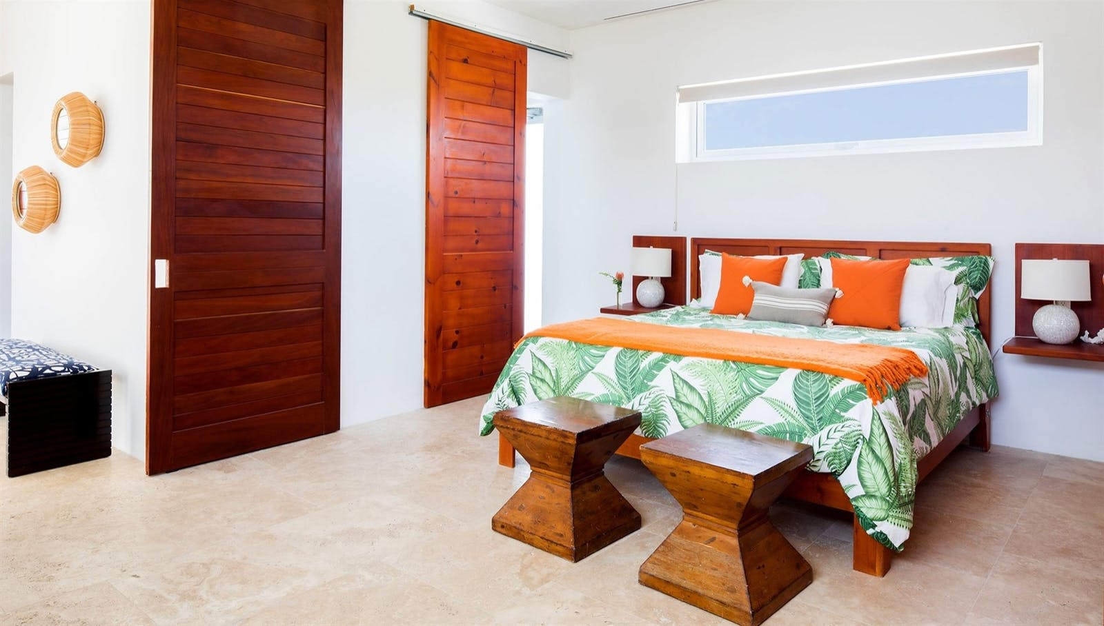 bedroom at champagne shores the villa anguilla